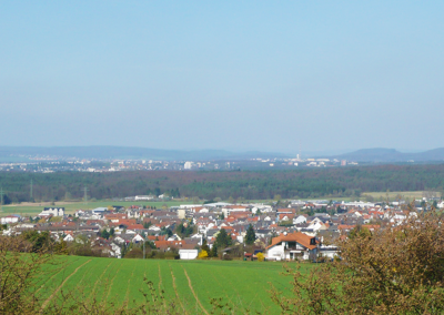 Blick auf Pohlheim